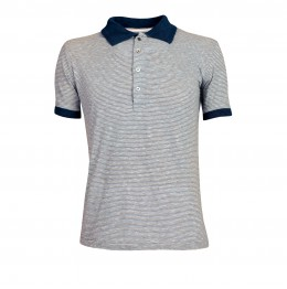 HEREN Pitman Polo - Sky Striped